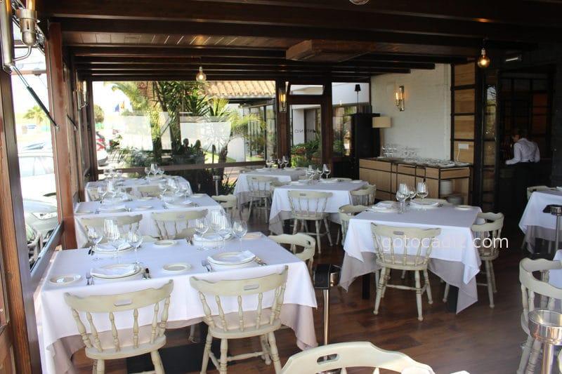Terraza del restaurante Antonio en Zahara 4/4