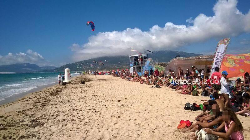Campeonato del mundo de Kite en Valdevaqueros