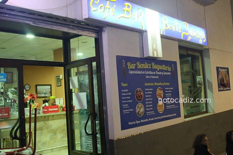 Bar Benitez en Chiclana