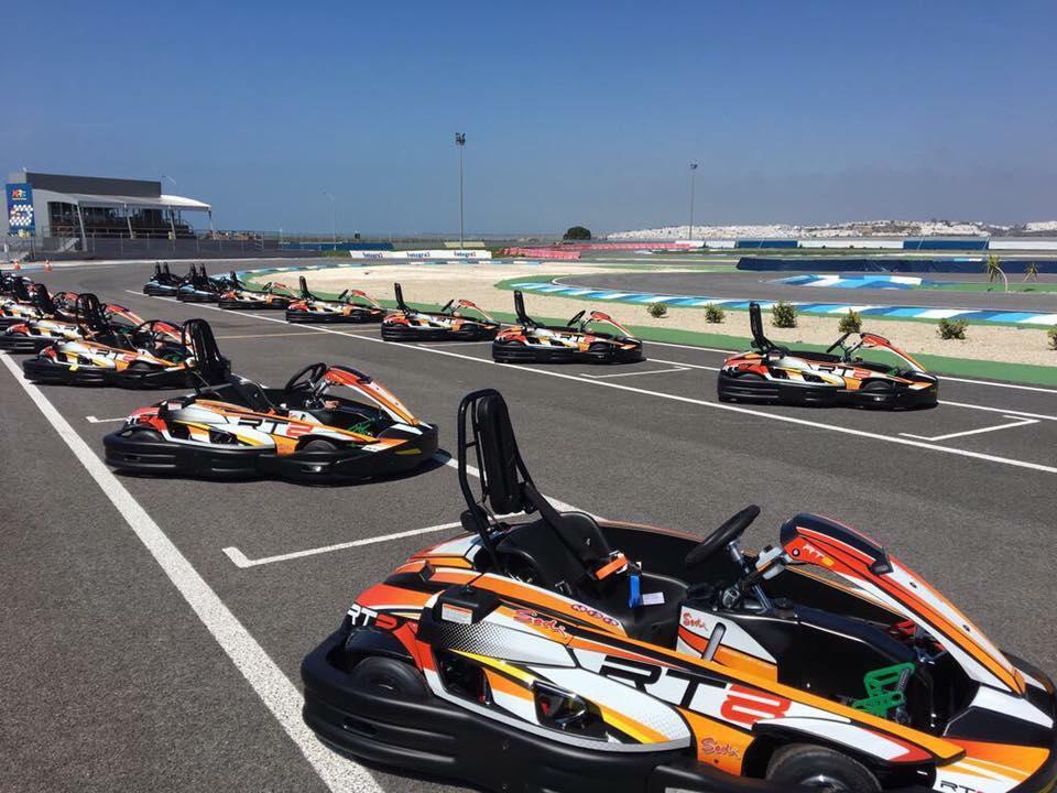 Circuito de velocidad KR24 entre Conil y El Palmar
