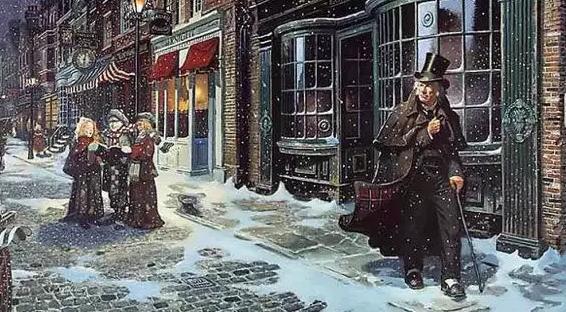Cuento de Navidad de Charles Dickens en la Casa Aramburu