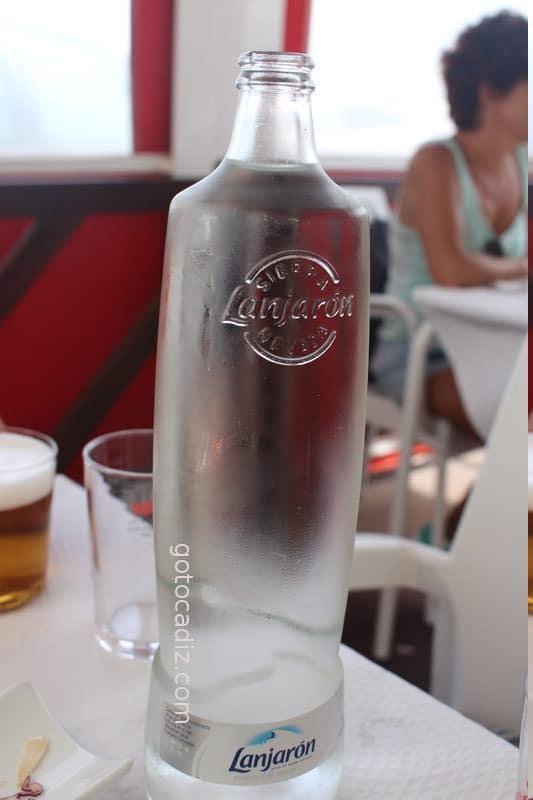 Botella de agua de El Ancla