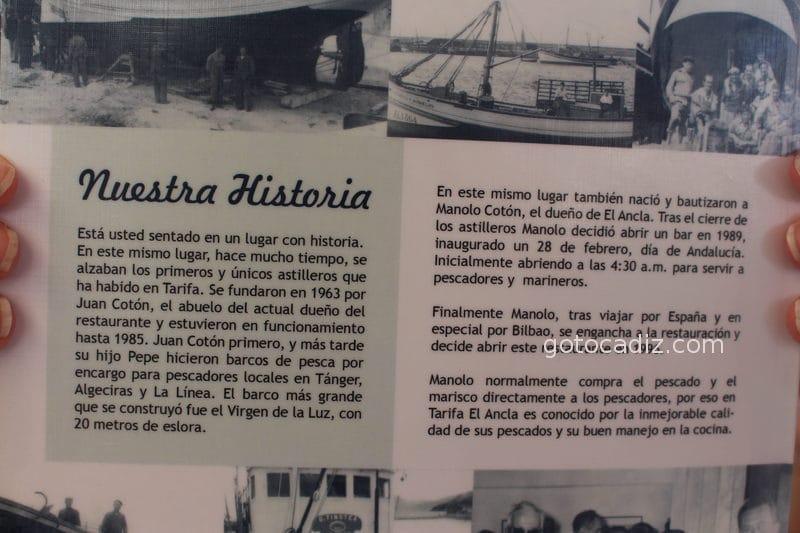 Historia de El Ancla