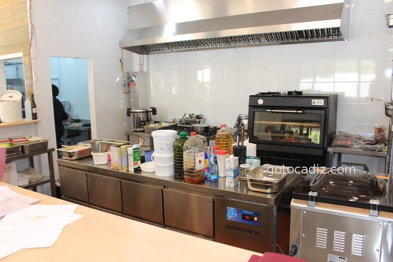 La cocina abierta del Cantón de Chiclana
