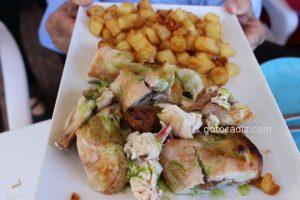 Pollo a la brasa de El Cantón de Chiclana