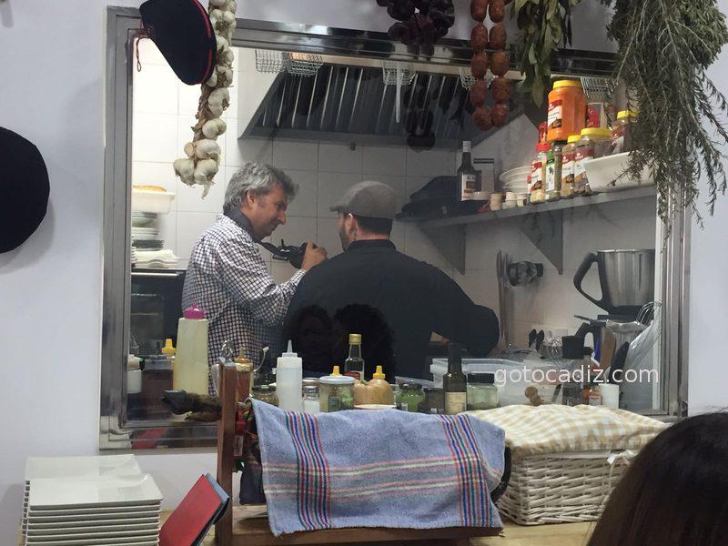 Cocina transparente de El Establo