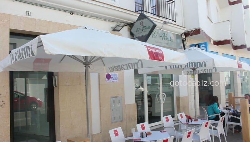 Fachada de el restaurante El Establo en Conil