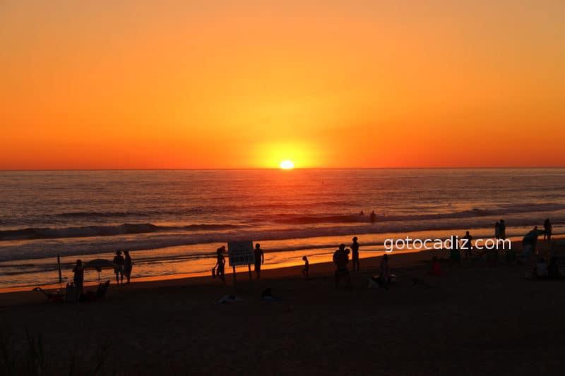 Puesta de sol en El Palmar
