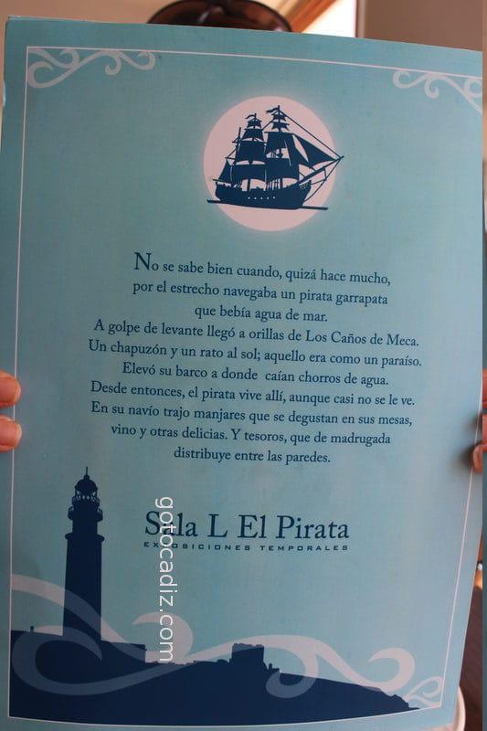 Introducción a la carta de El Pirata