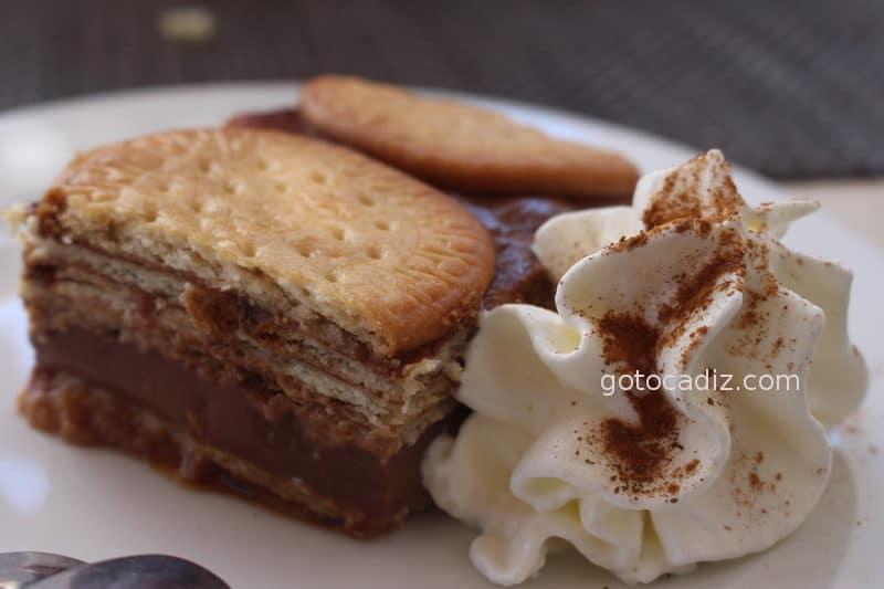 Tarta de galletas de chocolate de El Refugio