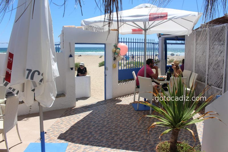 El Refugio Zahara, a pie de playa
