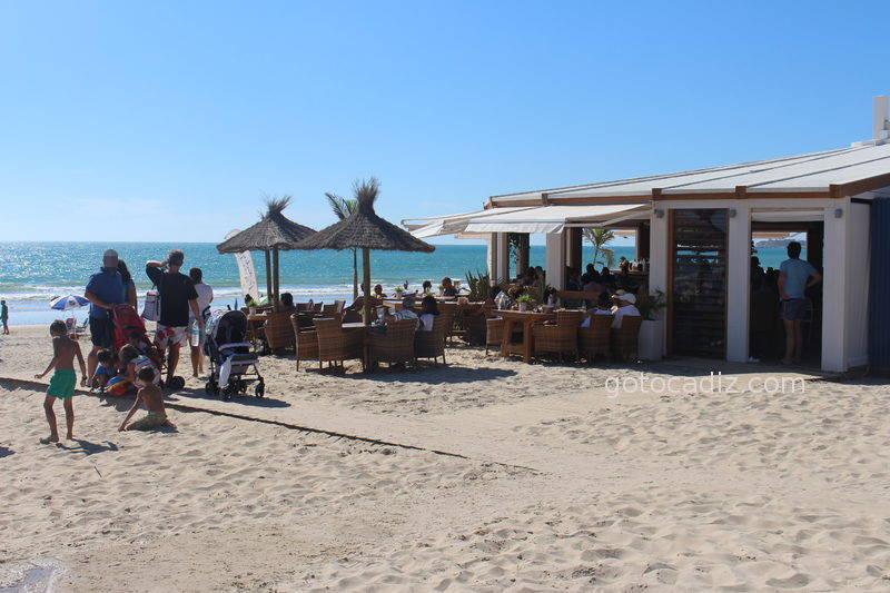 Terraza del Feduchy Playa a pleno sol