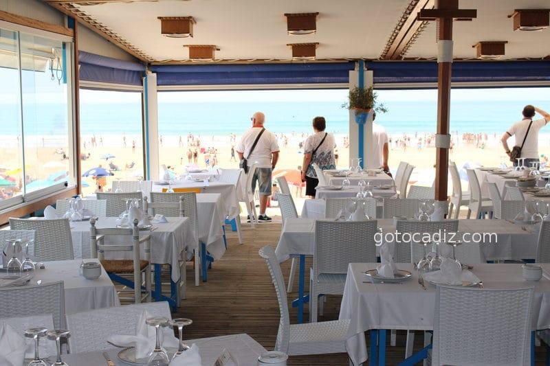 Terraza del restaurante Francisco Fontanilla