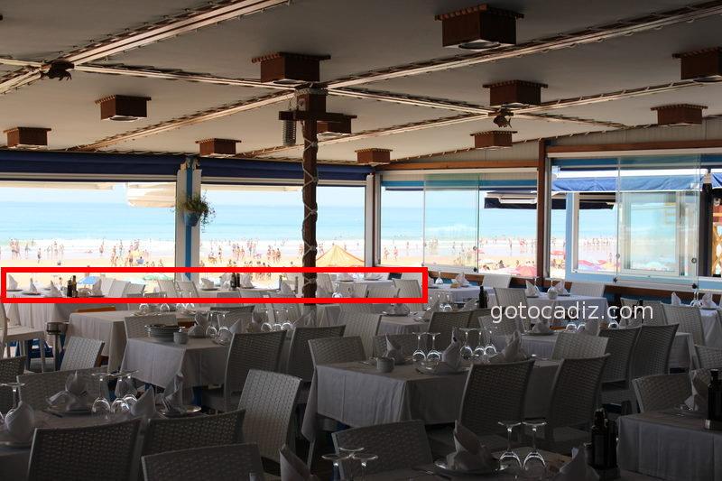 Mejores mesas de la terraza del Francisco Fontanilla
