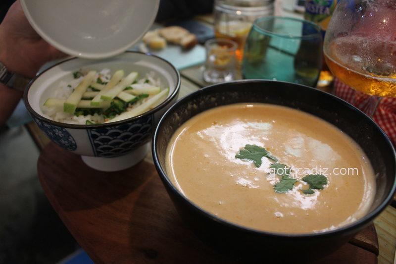 Arroz con curry de La Candela