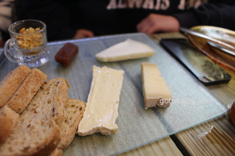 Tabla de quesos de La Candela