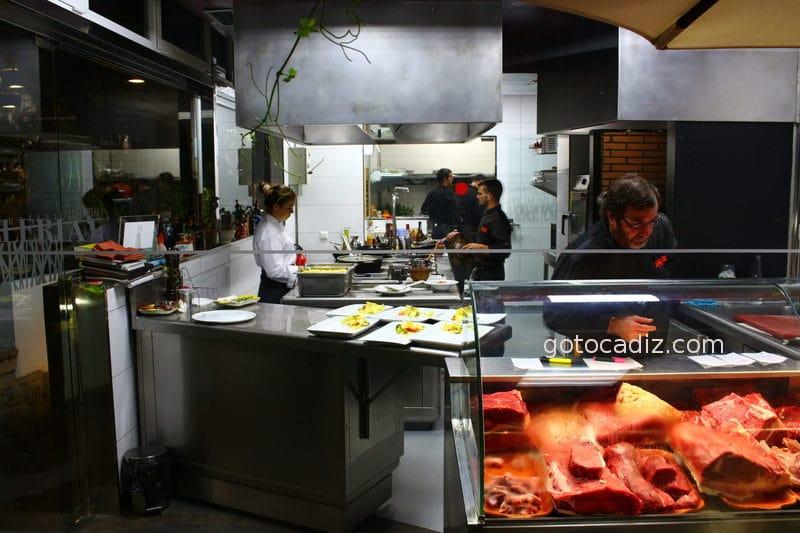 Cocina transparante de La Castilleria
