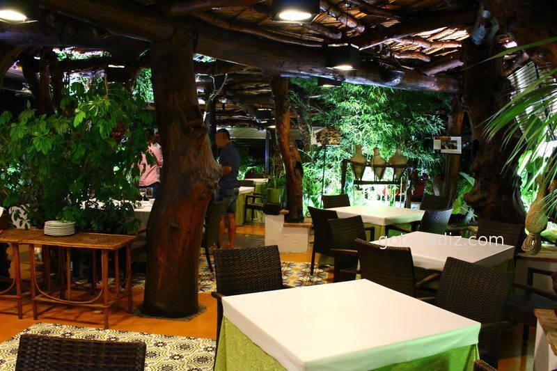 Los 29 mejores restaurantes en la provincia de c diz for Los jardines del califa
