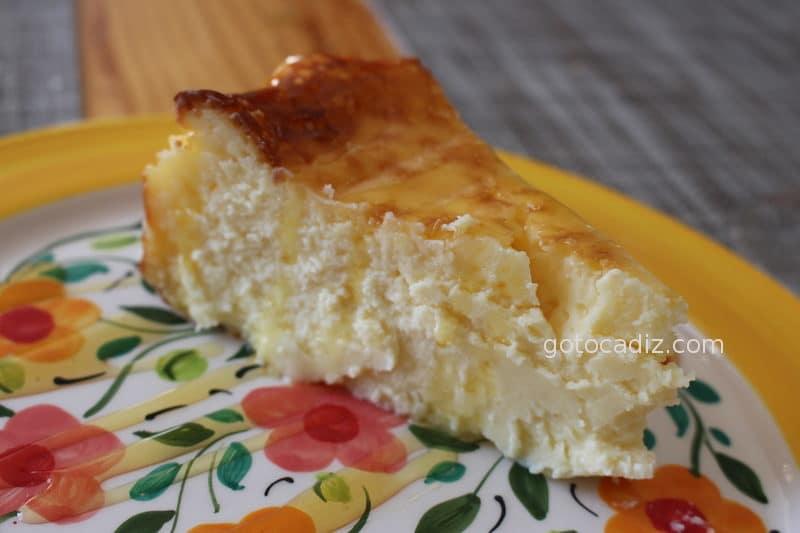 Tarta de queso casera de La Judería