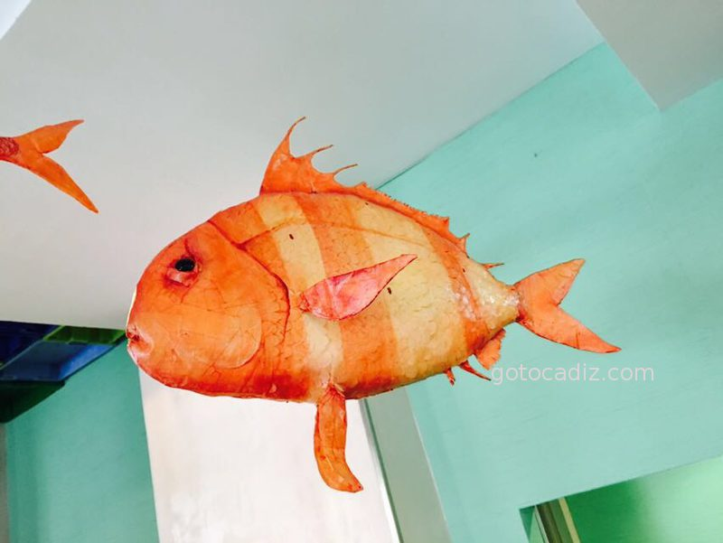 Pez volador en La Taberna del Chef del Mar (no se come jaja)