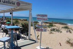 La Torre El Palmar ¡comiendo en 1 línea de playa!