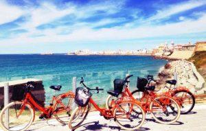 Las bicis naranjas de Cádiz