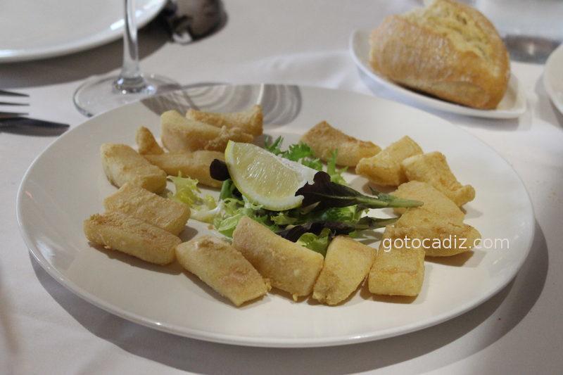 Chocos fritos de Maringo