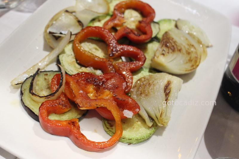 Parrillada de verduras de Maringo