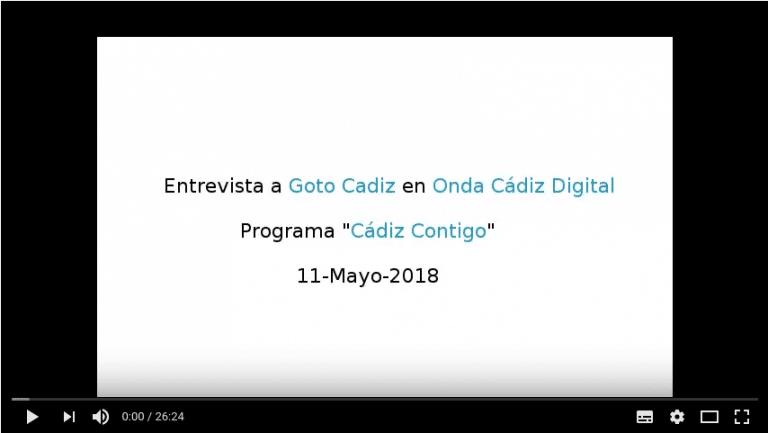 Onda Cadiz entrevista a Goto Cadiz (11 Mayo 2018)
