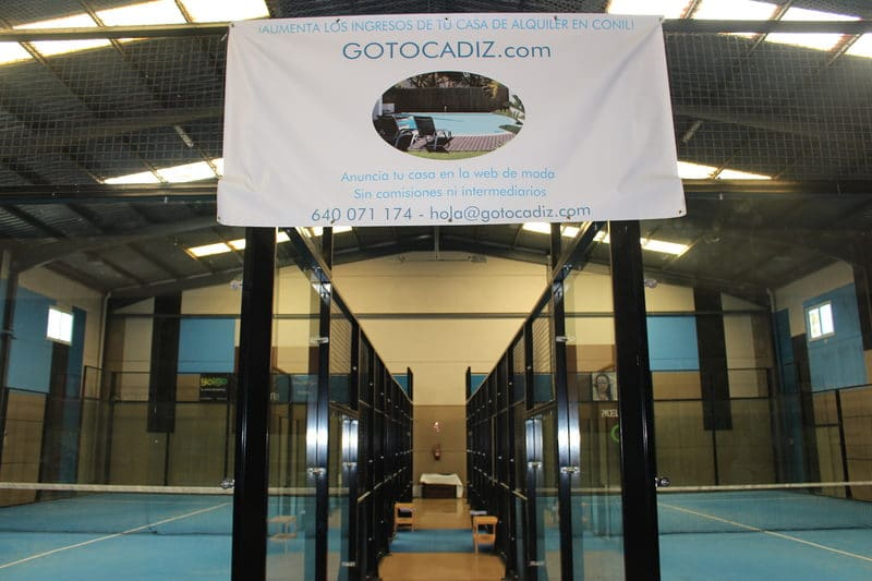 Pistas del Padel Indoor Conil