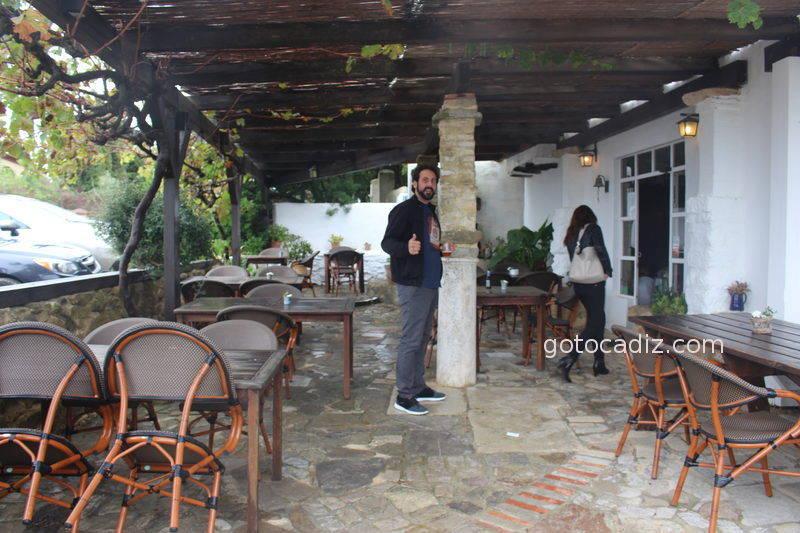 Terraza del restaurante Patria