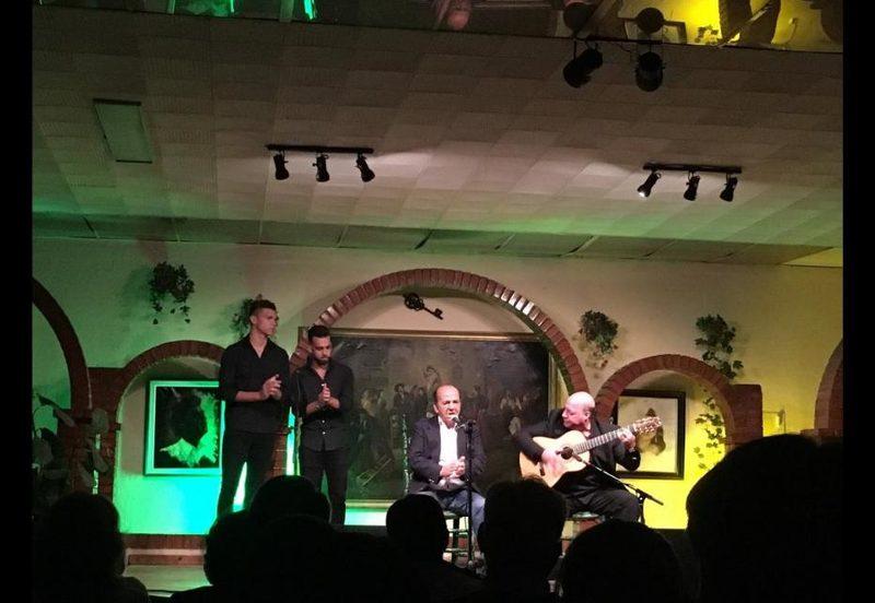 Actuación en La Peña La Burlería en Jerez
