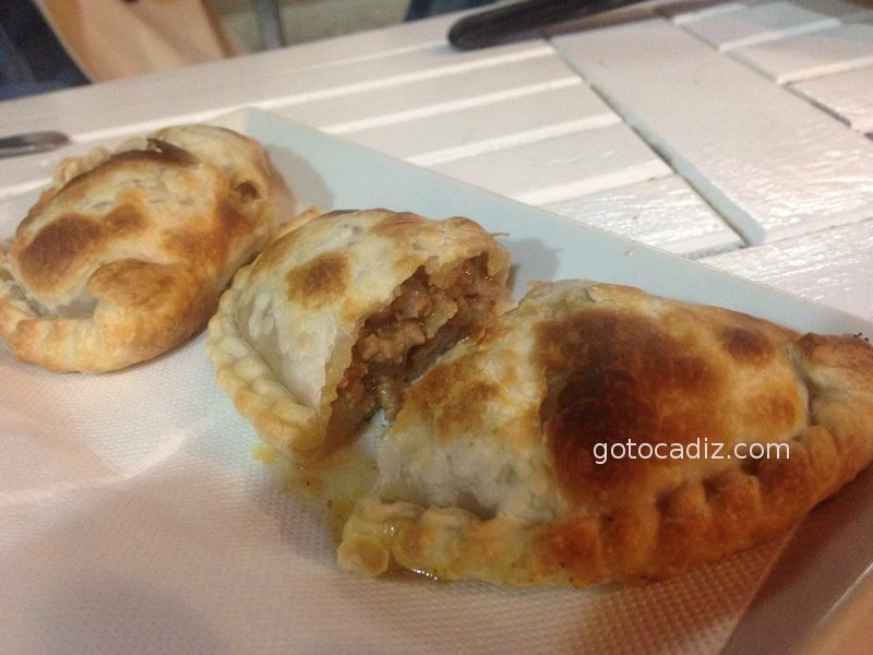 Empanadillas de carne de Pizza 10 por dentro