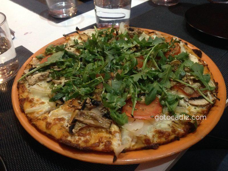 Pizza vegetal de Pizza 10