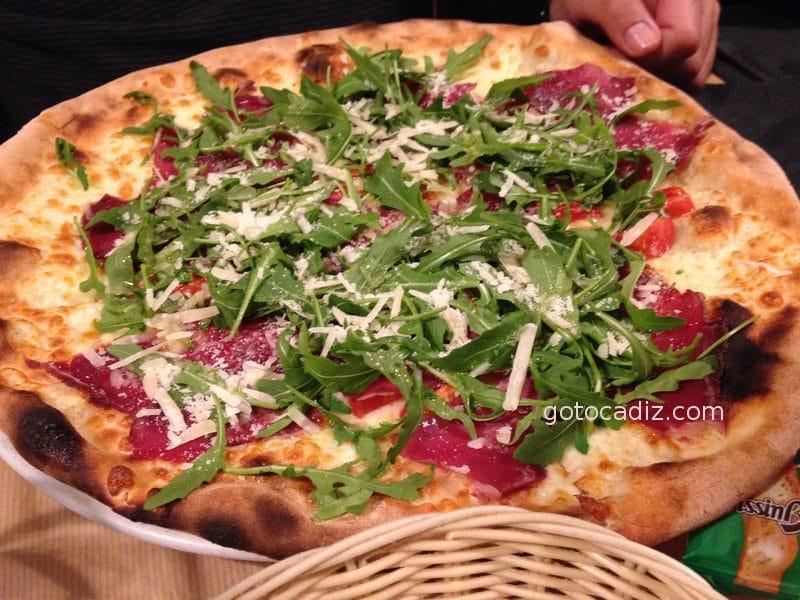 Pizza Gari de La Dolce Vita El Palmar (Vejer)