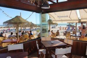Playa de Cortadura ¡gran playa a la entrada de Cádiz!