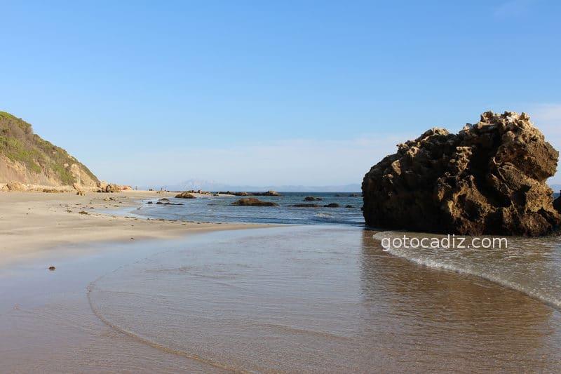 Playa de Bolonia (extremo opuesto a la duna)