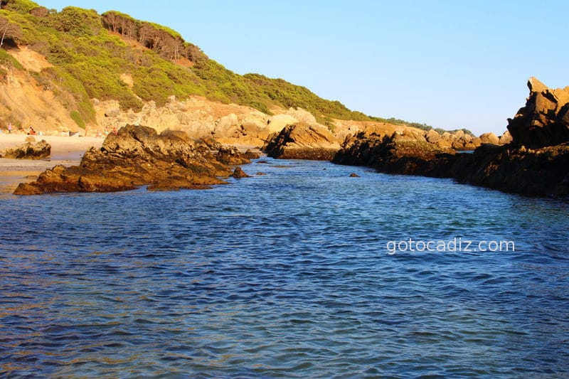 Piscinas naturales de Bolonia (solo en marea baja)