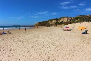 Playa de El Roqueo en Conil ¡chiquitita pero bonita!