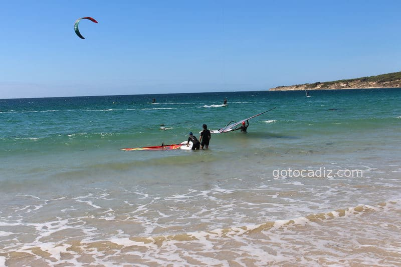 Windsurf en Valdevaqueros