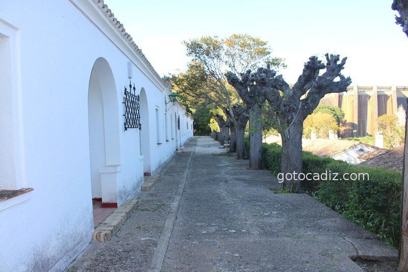 Casas del poblado del pantano de Los Hurones