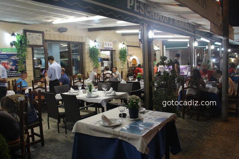 Restaurante Playa en el Paseo Marítimo de Conil