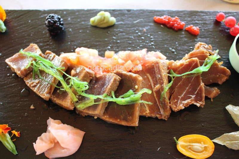 restaurante timon roche tataki conil