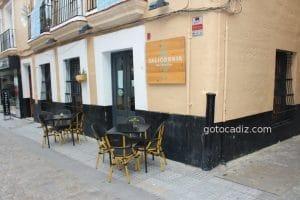Restaurante Salicornia en la C/ Plocia en Cádiz capital