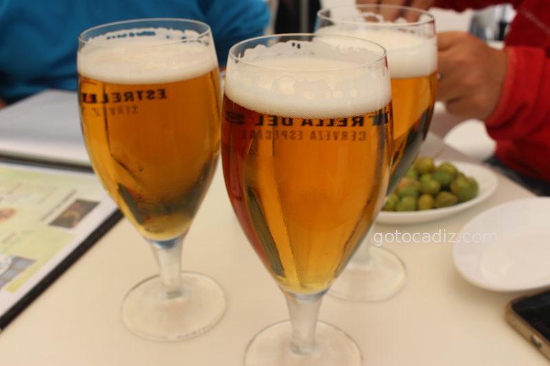 Cervezas bien tiradas en la Venta El Pantano