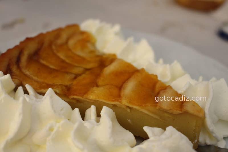 Tarta casera de manzana de El Soldao