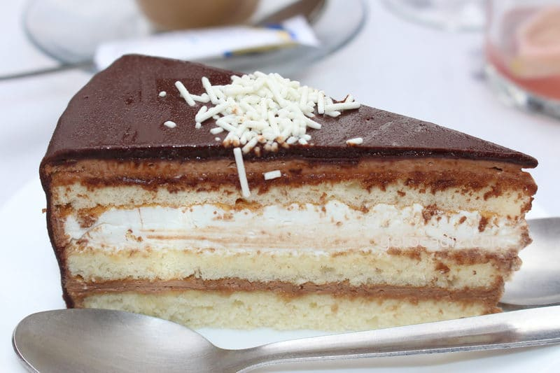 Tarta de chocolate de la Venta El Toro