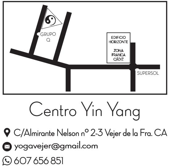 Localizacion de Yin Yang Yoga Studio en Vejer